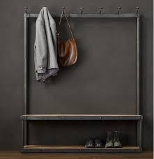Hallway Coat Racks Magnificent LOFT American Furniture Fashion Floor Interior Hallway Coat Rack