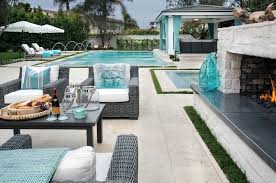 Q: Are there any secrets that you like to incorporate in your outdoor  rooms? AS: We like to use products in covered areas that you would normally  only see ...