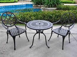 black metal outdoor furniture. 5.metal Outdoor Tables Metal Patio Furniture Sets Pool Water Table Black  Trees Black Metal Outdoor Furniture
