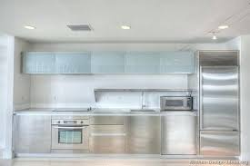 frosted glass white cabinet doors with cupboard inserts office kitchen