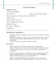 Curriculum Vita' 2015 Jamie Hanzlian Mobberly PERSONAL DATA: LAST NAME:  MOBBERLY First Name ...