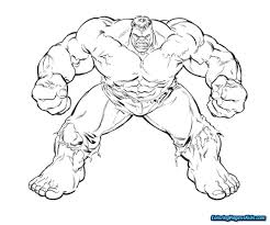 lego hulk coloring pages