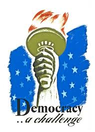 what was democracy the nation works progress administration poster from the 1930s