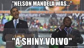 Mandela Memorial Fake Interpreter Memes – Janet Carr @ via Relatably.com