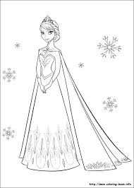 frozen coloring book pages 14