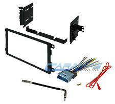 car stereo installation kit new car stereo radio double 2 din dash installation trim kit w wiring harness