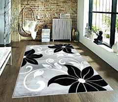 gray rug 5x7 white area rugs gray black white x fl oriental area rug carpet black