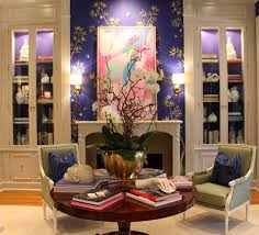 living room interior designer atlanta kandrac kole. modren living david ecton of parker kennedy living as explained to me the  custom made screen printed fromental wall covering is u201cwilly wonka yummy for living room interior designer atlanta kandrac kole