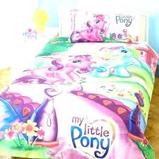my little pony bedding full set bed double l