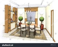 25 Modern Dining Room Decorating Ideas  Contemporary Dining Room Drawing And Dining Room Designs