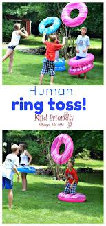 Human Ring Toss Game - A Fun and Easy Summer Outdoor Game for Kids and  Adults