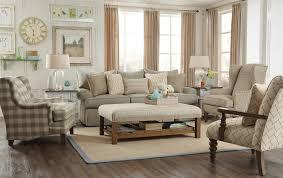 Paula Deen Living Room Furniture Paula Deen By Craftmaster P997000 Loose Pillow Back Sofa With
