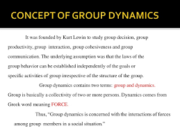 dynamics essay group dynamics essay
