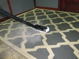 how to clean large area rugs at home