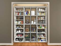 wall pantry storage cabinet closetmaid white