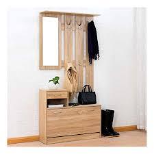 Coat Rack Storage Unit Custom Cherry Tree Furniture Oak Colour Hall Tree Coat Stand Shoe Storage