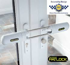patlock french patio double doors