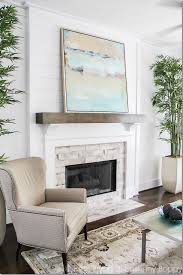 brick fireplace mantel decor 27 best fireplace and mantle decor images on