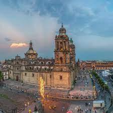 het hart van Mexico Stad