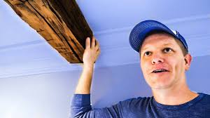 how to install 150 year old hand hewn beams diy project smarter every day 186