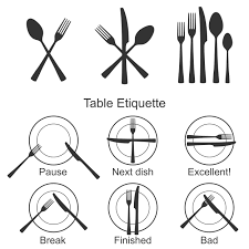 Dining Etiquette Practiced By Elite Class People Wave City - Dining room etiquette