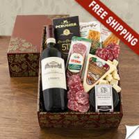 buona vita italian vino antipasto gift box