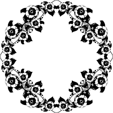 clipart vine black and white fl design