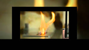 fiero freestanding portable bio ethanol fireplace by nu flame