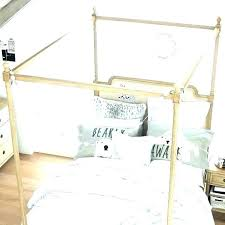 pottery barn canopy bed – changingtheworld.co