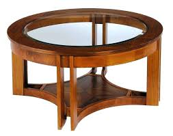 solid glass coffee table large round glass coffee table solid wood coffee table with glass top