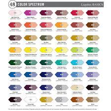 Liquitex Basics Acrylic Paint 48 X 22ml Set