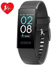 IP68 Waterproof Fitness Tracker <b>Smart</b> Watch with Skin & Body