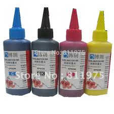 <b>Universal 4 Color</b>+<b>100ML</b> Sublimation Ink <b>For</b> Sublimation Ink ...