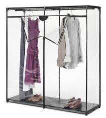 wardrobe racks covered garment rack clothes rack cool transpa plastic covered clothes rack with