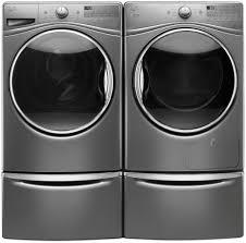 whirlpool duet steam washer.  Duet Whirlpool Duet WFW9290FC  Laundry Pair With Pedestals Inside Steam Washer