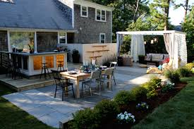 17 Low Maintenance Landscaping Ideas  Chris and Peyton Lambton Backyard  Design Tips