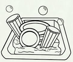 dishes in sink clipart. Delighful Dishes Dishes Clipart Sink 7000279 For Dishes In Sink Clipart A
