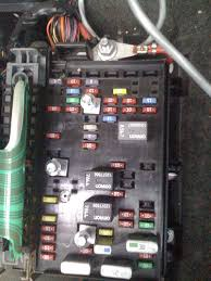 fuse box under rear seat burned up chevy trailblazer, trailblazer 2006 Trailblazer Fuse Box Location at 2006 Trailblazer Ext Fuse Box Diagram
