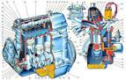 Двигатель ваз 2106 с описанием