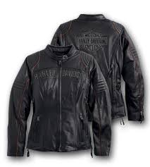 harley davidson reg women s eclipse waterproof leather jacket with triple vent system
