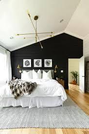 11'' h x 45'' w; Bold Black Accent Wall Ideas