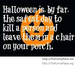 funny halloween cover picture with quote