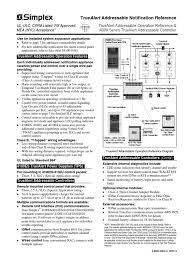 simplex grinel 4009 0003 amplifier manufactured goods Simplex Fire Alarm Wiring Diagram Simplex Fire Alarm Wiring Diagram #44 fire alarm system simplex wiring diagram