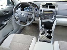 toyota camry 2012 interior. camry hybrid le interior photo courtesy michael karesh toyota 2012 o