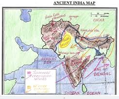 Ancient India Map Worksheet Free Worksheets Library | Download and ...