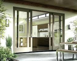 sliding glass door home depot sliding door patio home depot 4 panel sliding glass door home