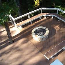 26 gas fire pit on wood deck backyard fire pit ideas and designs for your yard deck or patio mccmatricschool com