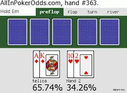 Online Poker Odds Calculator In Boston
