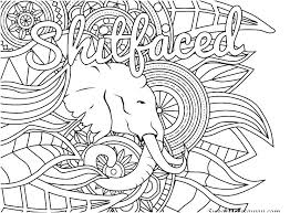 Aesthetic Coloring Pages Coloring Aesthetic Coloring Page Swearword
