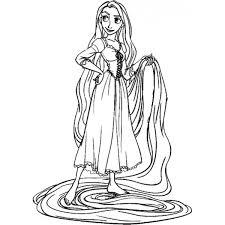 Più Ricercato Disegni Da Colorare Di Rapunzel Disegni Da Colorare